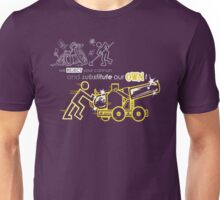 We Reject Your Cannon (Yellow Version) Unisex T-Shirt