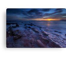 Seacliff Beach at Sunrise Canvas Print