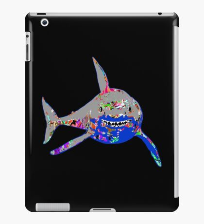 Graffiti Shark iPad Case/Skin