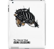 wild animals iPad Case/Skin