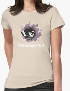 Rick Gastly Womens Fitted T-Shirt