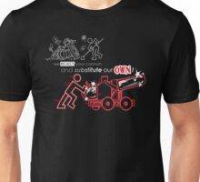 We Reject Your Cannon (Red Version) Unisex T-Shirt