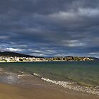 Gathering storm clouds - Howrah Beach, Tasmania, Australia by PC1134