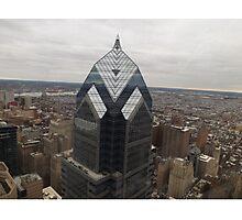 Aerial View of Philadelphia, One Liberty Observation Deck, Philadelphia, Pennsylvania Photographic Print