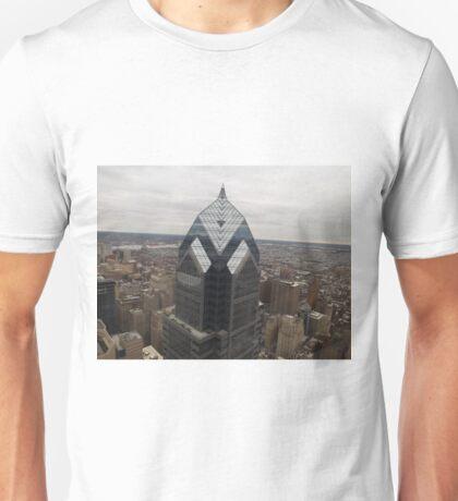 Aerial View of Philadelphia, One Liberty Observation Deck, Philadelphia, Pennsylvania T-Shirt