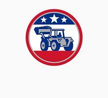 American Mechanical Digger Excavator Retro Unisex T-Shirt