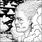 The Man of the Clouds by Paolo Uberti