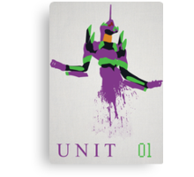 Unit 01 Canvas Print