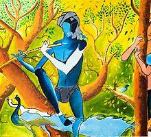 Radha Krishna by Vicasso