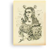 Gioconda Canvas Print