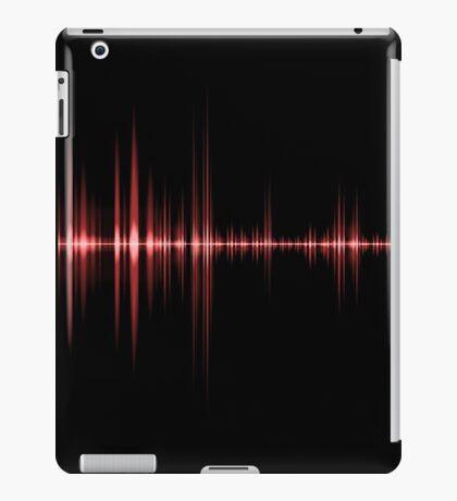Red Wave Sound iPad Case/Skin