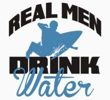 Real men drink water by nektarinchen