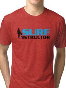 Surf Instructor Tri-blend T-Shirt