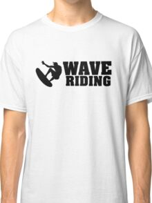 Wave Riding Classic T-Shirt
