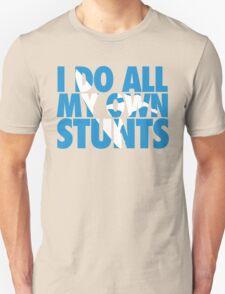 Surfing: I do all my own stunts Unisex T-Shirt