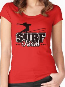 Surf Team Women's Fitted Scoop T-Shirt