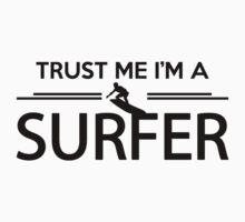Trust me I'm a surfer Kids Clothes