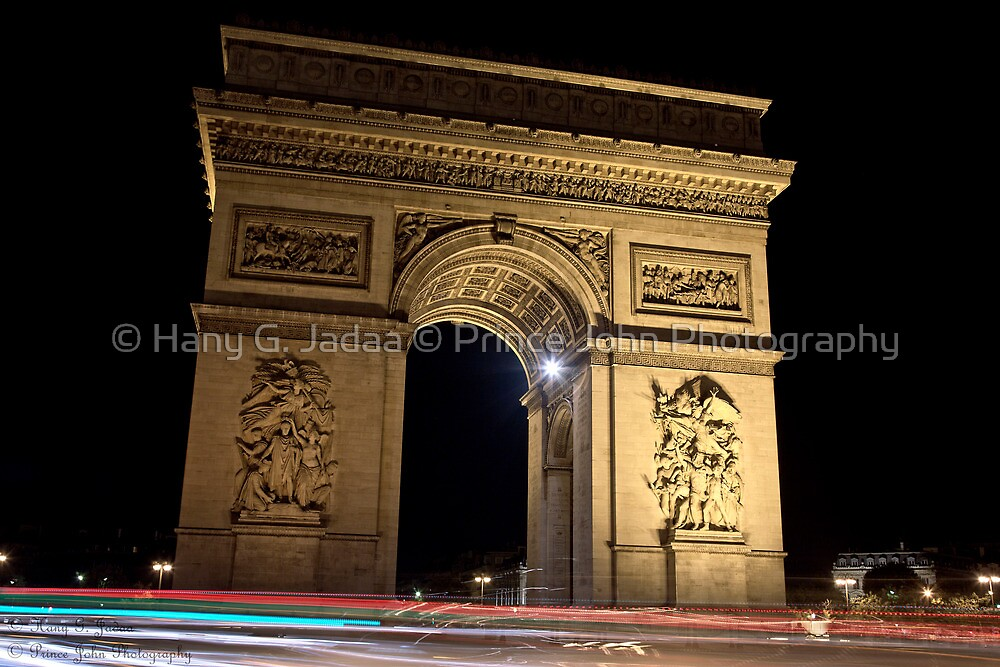 Night Arc © by © Hany G. Jadaa © Prince John Photography