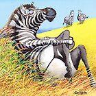Sexy Zebra by RoseRigden
