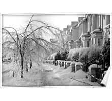 Frozen Suburbia Poster