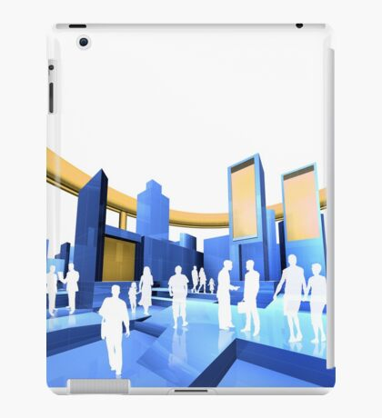 City blueprint  iPad Case/Skin
