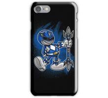 Vintage Blue Ranger iPhone Case/Skin
