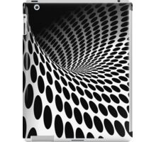 Waves and circles iPad Case/Skin
