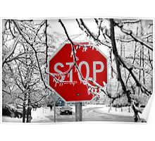 Stop Glacee Poster