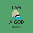 Twitch Plays Pokemon: I Am A God (Featuring Croissants) - iPhone/Galaxy Case Green/Dark by Twitch Plays Pokemon