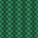 Irish Shamrocks Plaid Pattern by HolidayT-Shirts