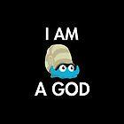 Twitch Plays Pokemon: I Am A God - iPhone/Galaxy Case Black/White by Twitch Plays Pokemon