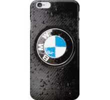 black - wet - BMW iPhone Case/Skin