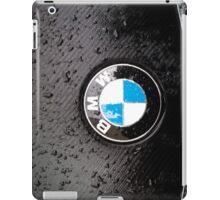 black - wet - BMW iPad Case/Skin