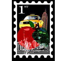 new york st Photographic Print