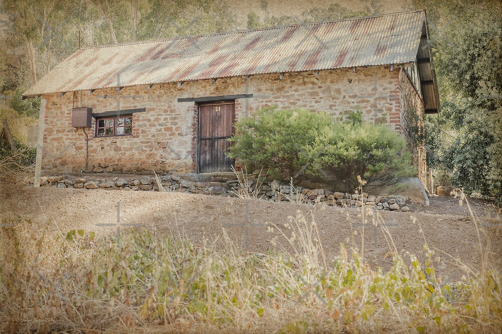 The Old Stone Cottage by Elaine Teague