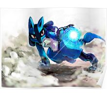 Trials of Lucario Poster