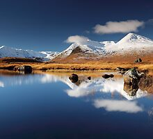 Blackmount Reflection by Grant Glendinning