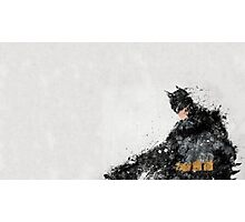 Abstract Oil Batman Photographic Print