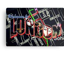 Welcome To London - Sherlock Version #1 Metal Print