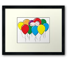 Balloon Dream Framed Print