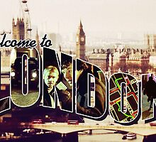 Welcome To London - Sherlock Version #2 by sittingdowntype