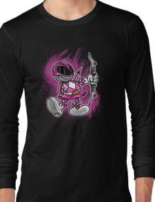 Vintage Pink Ranger Long Sleeve T-Shirt