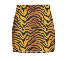 Tiger stripe Mini Skirt