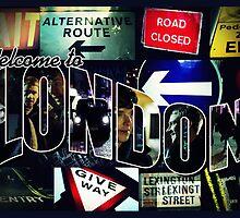 Welcome To London - Sherlock Version #3 by sittingdowntype