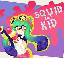 Squid Kid by KaijuCupcakes
