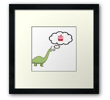 Dreaming of Cake Framed Print