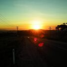 Road to Mount Isa by V1mage