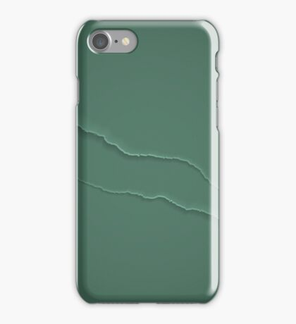 Crack background iPhone Case/Skin