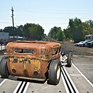 Rat Rod 'Ain't no Chik'n Rod' by DaveKoontz