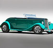 1934 Ford 'Full Fendered' Roadster by DaveKoontz